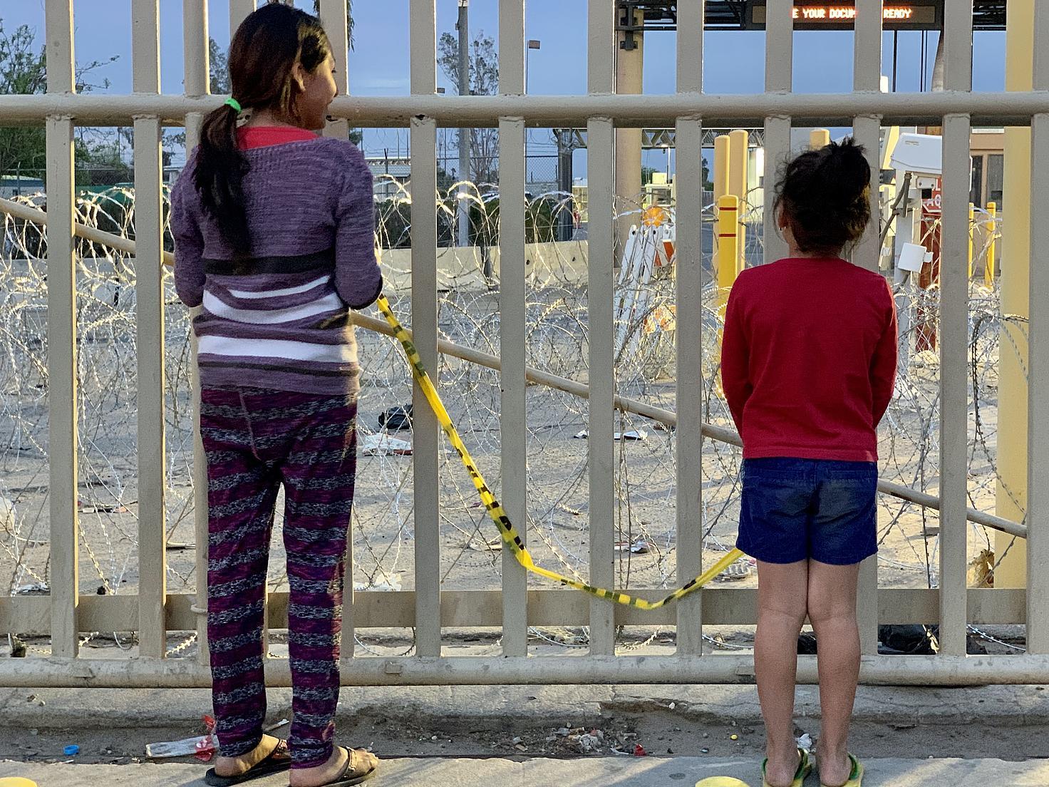 Menores migrantes no acompañados